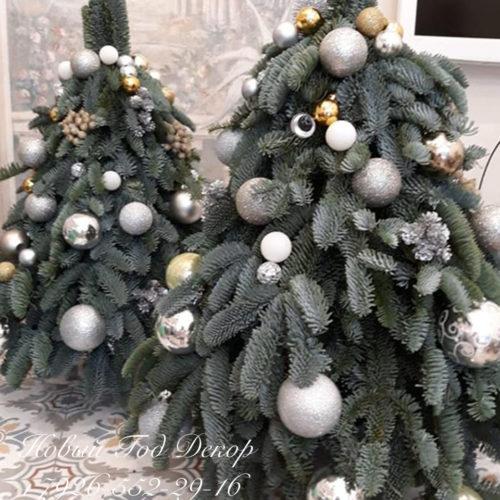 Красивое новогоднее оформление корпоративных мероприятий и декор к новому году студия декора и флористики ngdecor.ru